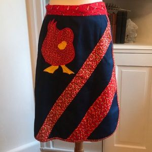 Vintage Handmade Wrap Skirt